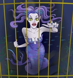 Tolles Spiel für den Meerjungfrauen-Geburtstag: Fangt die See-Hexe!
