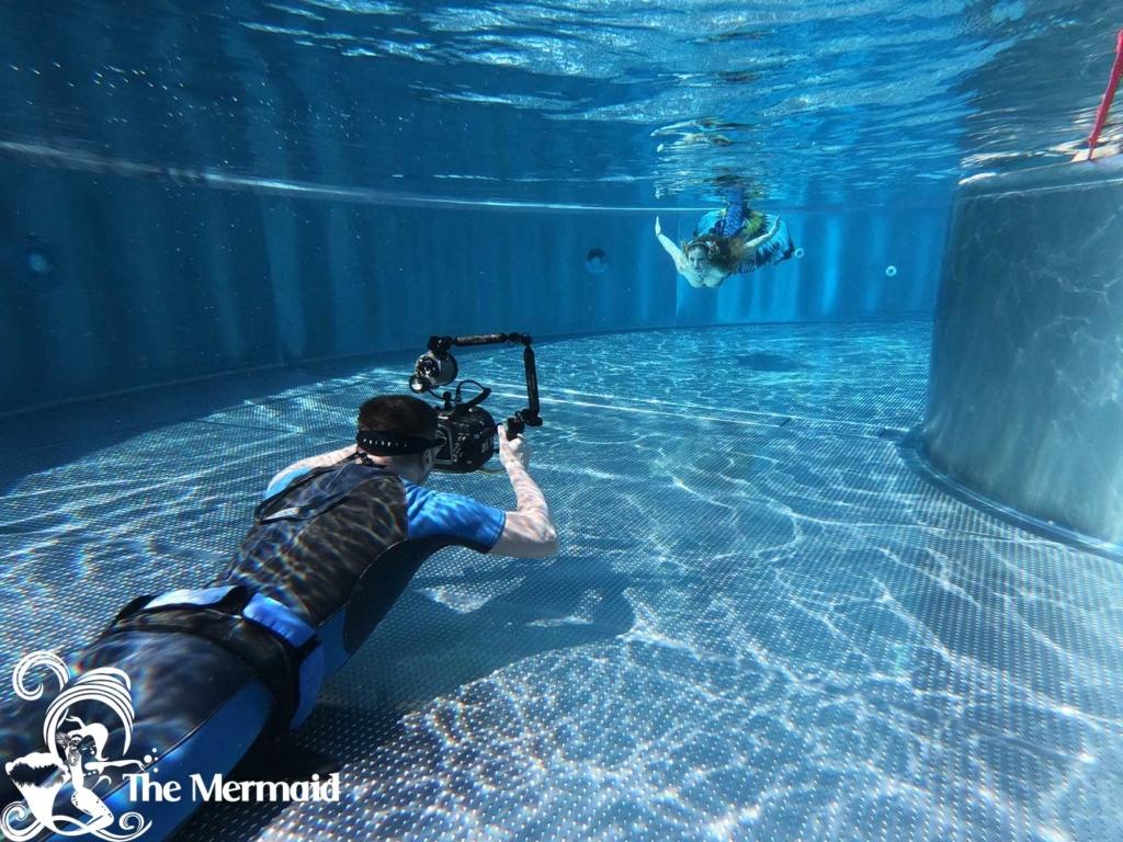 Ich werde am Meerjungfrauentag im Prienavera Erlebnisbad wieder mit Georg Sebastian Erdmann shooten.