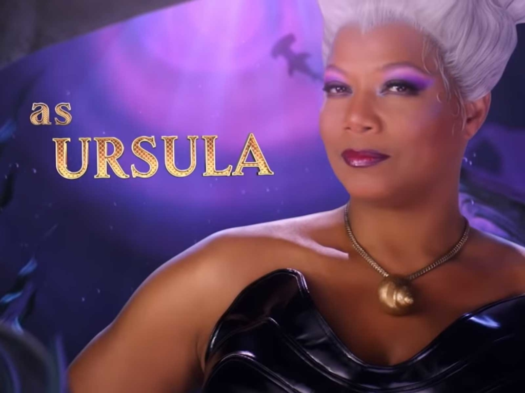 Queen Latifah spielt Ursula in der Arielle-Musical-Neuverfilmung. (Screenshot: ABC)