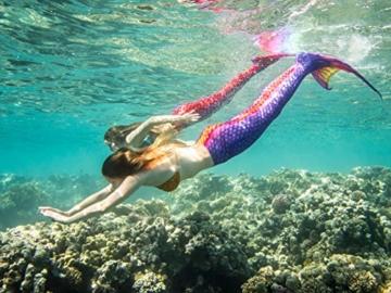 Das Meerjungfrauenflossen-Set Flash von Magictail für Kinder und Erwachsene