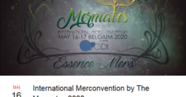 "Die International Merconvention von ""The Mermates"" findet am 16. und 17. Mai 2020 statt. (Screenshot: Facebook)."