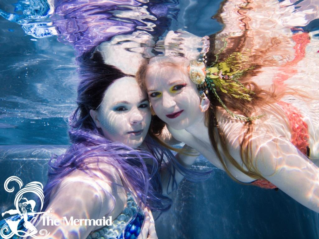 Meerjungfrauen-Shooting mit Georg Sebastian Erdmann beim Meerjungfrauen-Tag 2020 in Prien.