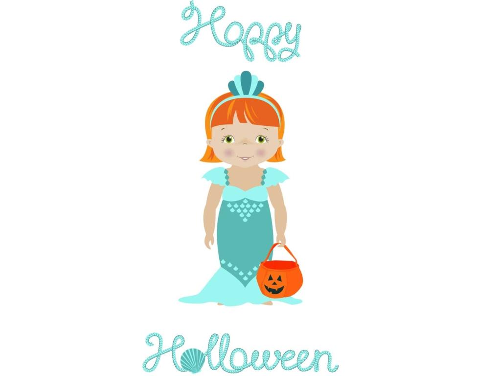 Für Halloween zeige ich Dir ein paar tolle Meerjungfrauen-Kostüme für Kinder.